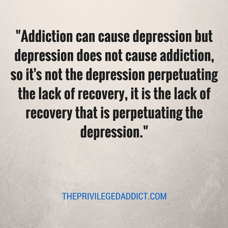 Addiction & recovery