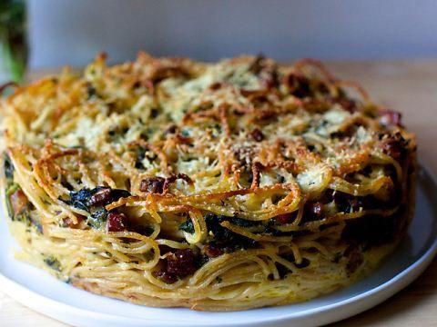 Smitten Kitchen S Spaghetti Carbonara Pie From The Smitten Kitchen