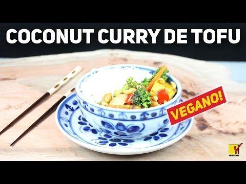 COCONUT CURRY DE TOFU ft. BORA VEGANIZAR   VEGANO   VIRE UM TOFU LOVER   VIEWGANAS - YouTube