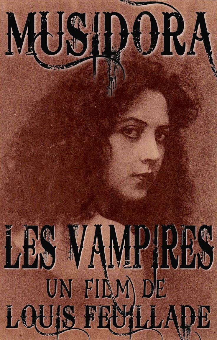 Musidora in Les Vampires