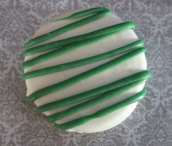 White Chocolate Covered Mint Oreo Cookies by KennedysCandies, $9.00