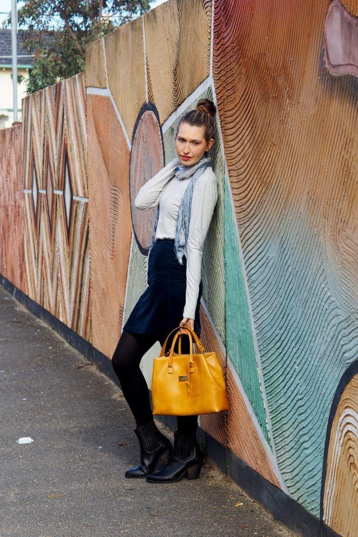 Fair Fashion Outfit: Colours of Autumn