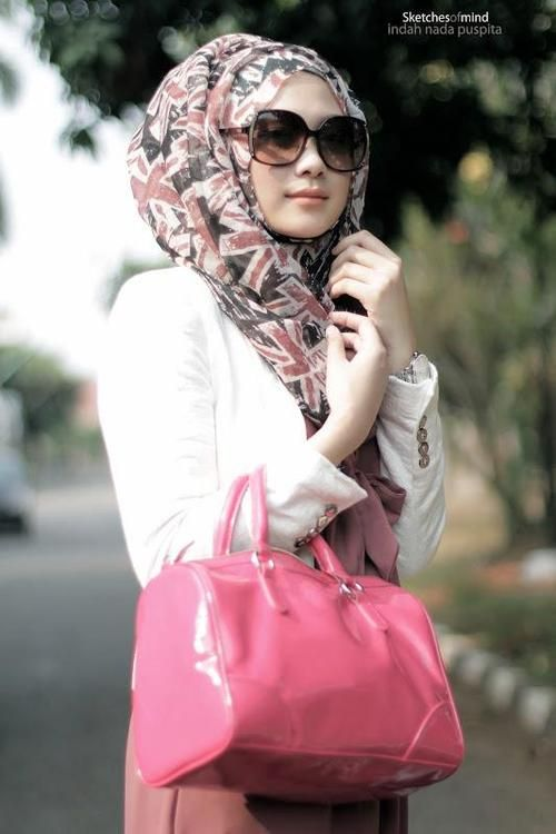 PINK HIJAB DAY | HIJAB INSPIRATION