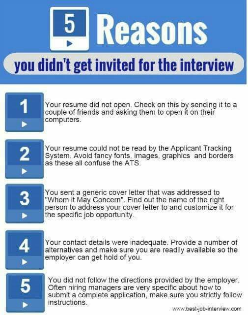 165 best job interview preparation images on Pinterest Career - how to prepare a resume for an interview