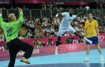 Luc Abalo et les Experts, doubles champions olympiques de hanball