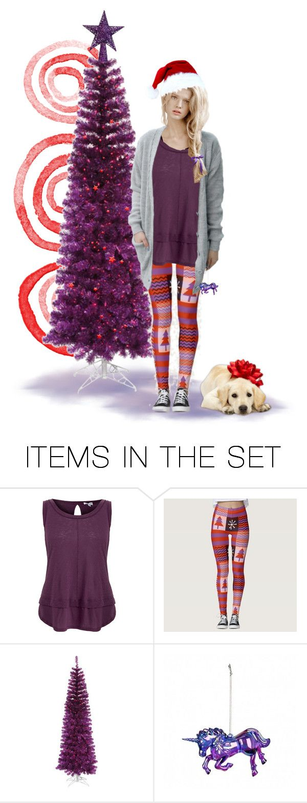 Christmas Teen by kbarkstyle on Polyvore featuring art