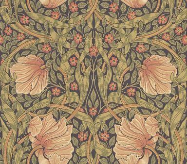 Morris Pimpernel Wallpaper main image