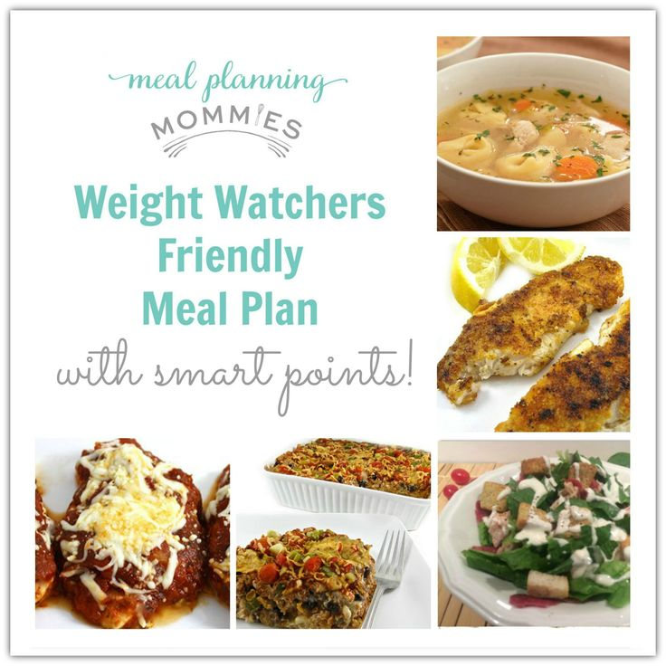 weight watcher meal plan with smart points meal planning mommies weight watchers pinterest. Black Bedroom Furniture Sets. Home Design Ideas