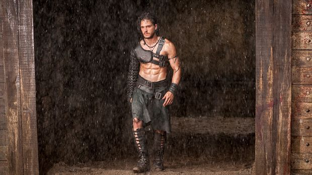 Find out how Kit Harrington, from Pompeii and Game of Thrones, trains.