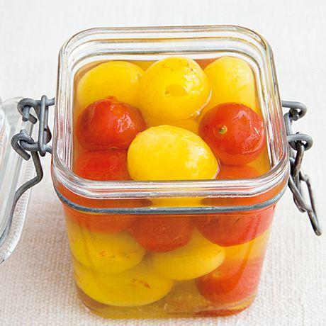 ミニトマトのピクルス | 植松良枝さんのピクルスの料理レシピ | プロの簡単料理レシピはレタスクラブニュース
