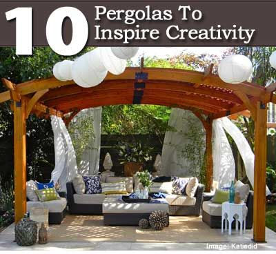 10 Pergolas To Inspire Creativity