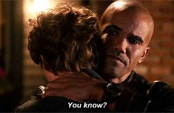 """Hey kid, we know you're probably feeling a little down after Shemar Moore's departure from Criminal Minds. But you know what they say: Don't cry because it's over, smile because it happened -- """"it"""" being Morgan (Moore) and Reid's (Matthew Gray Gubler) adorably sweet, big bro-little bro friendship."""