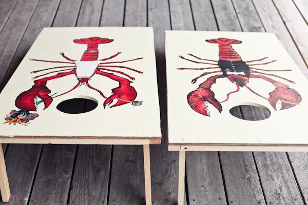 lobster themed wedding games
