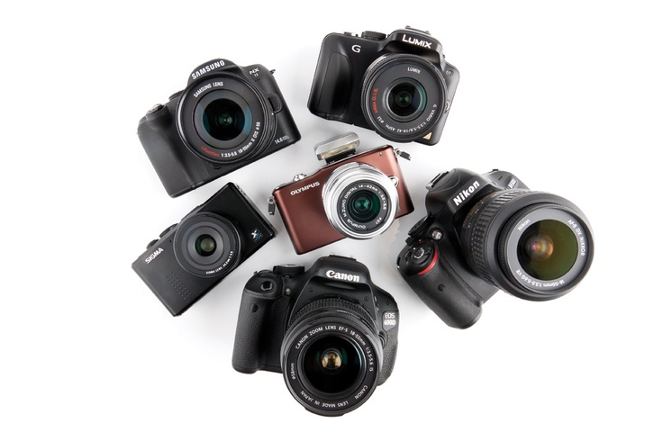 PC Advisor Camera group test