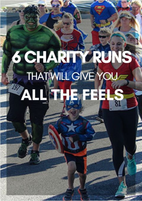 Not that you need any added motivation to get out there and run, but running for a cause provides a dose of inspiration you might not get with other races. Medals, T-shirts, and the adoration of your supportive friends and family are all great, but adding a layer of philanthropy and purpose to an event takes things to the next level. 6 Charity Runs That Will Give You All the Feels…
