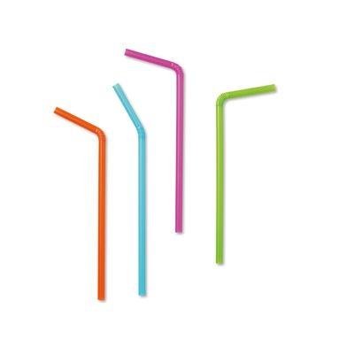 100 Pajitas de colores