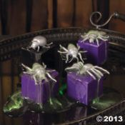Create Creepy Buggy boxes filled with Halloween treats and prizes for a fun party favor! Get creative and use glow paint or glitter paint on the bugs to add a little flair.