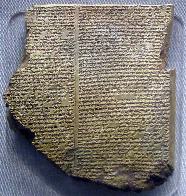 hear the epic of gilgamesh read in the original akkadian - 736×778