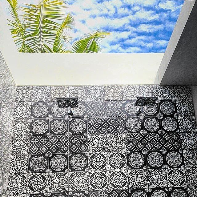 4 Quarters Villas, Bali, Indonesia, Private Pool Villas, Open showers, Tiles, Industrial Chic, Tropical, Travel, Holiday