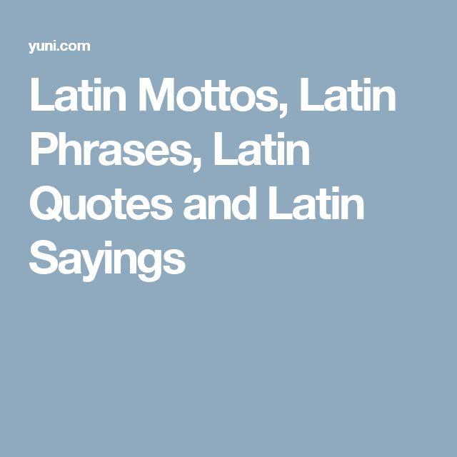 Short Latin Quotes 64