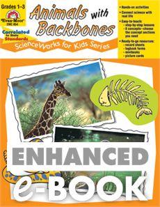 ScienceWorks for Kids: Animals with Backbones, Grades 1-3 - E-book: Evan-Moor.com