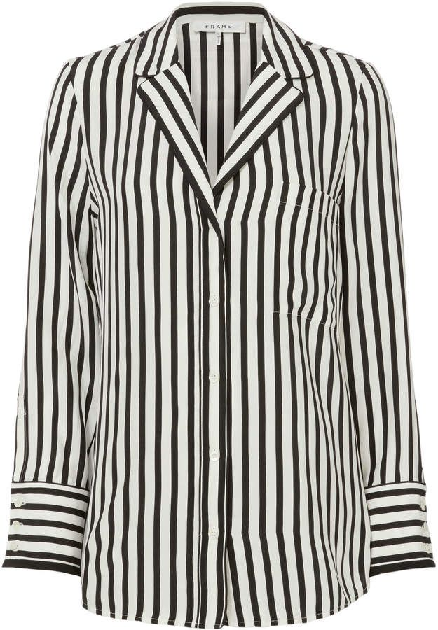 19bd1a9585 Frame Striped Pajama Blouse