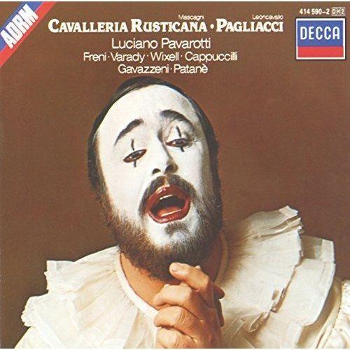 Luciano Pavarotti & Mirella Freni & Julia Varady & Ingvar Wixell & Piero Cappuccilli & The National Philharmonic Orchestra & Giuseppe Patanè & Gianandrea Gavazzeni - Mascagni: Cavalleria Rusticana/Leoncavallo: Pagliacci (2CDs)