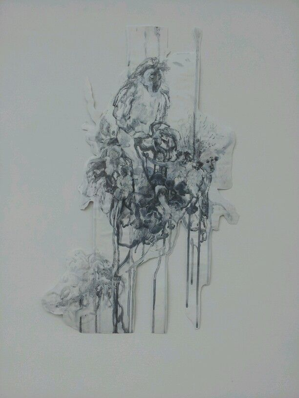 Frral Angel Drawing series- Jayne Anita Smith