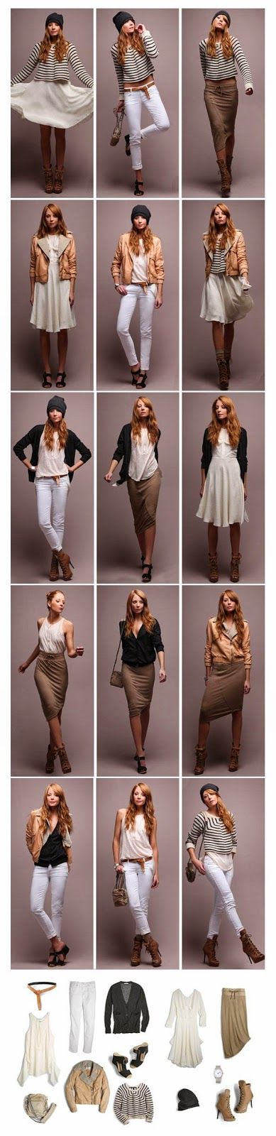 pre-spring minimalist 5 piece french capsule wardrobe / Becoming Minimalist Lola