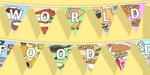 World Food Day Display Bunting
