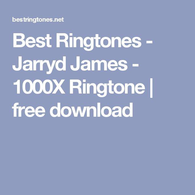 Best Ringtones - Jarryd James - 1000X Ringtone | free download