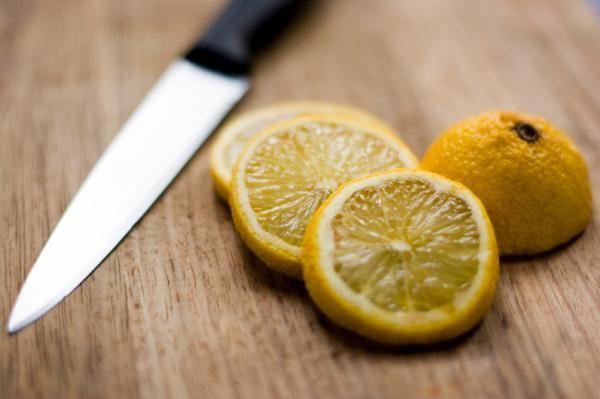 O suco de limão