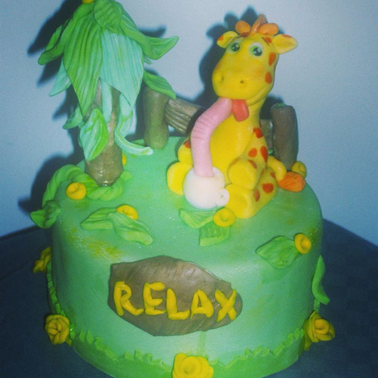 Giraffa in relax