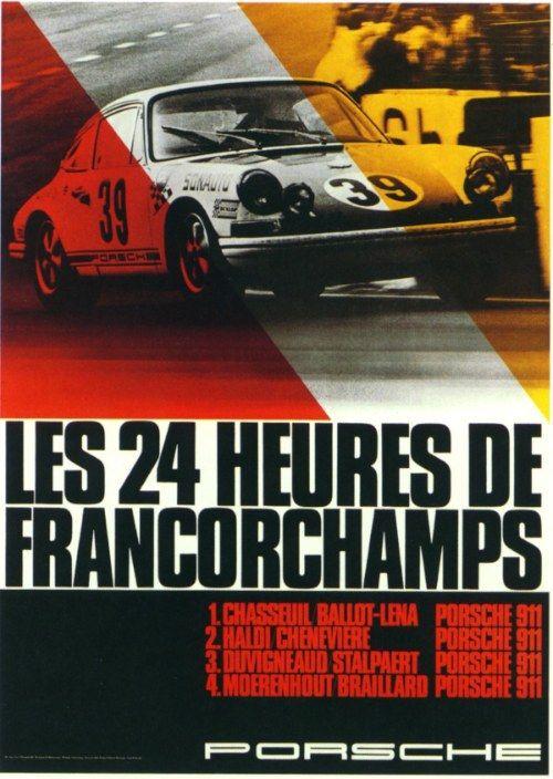 Porsche Racing Posters