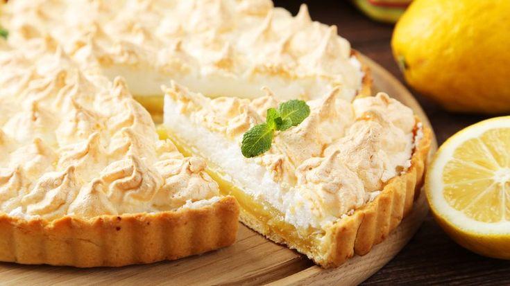 Aprenda a fazer uma torta de limão com a massa bem leve - Bolos e Tortas - iG