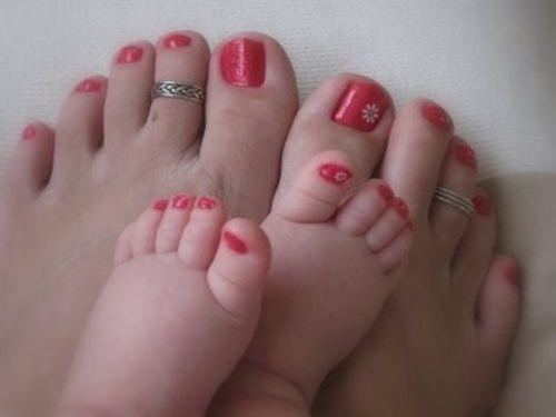 cute-toe-nail-art-1025 Cute And Adorable Toenail Art Designs