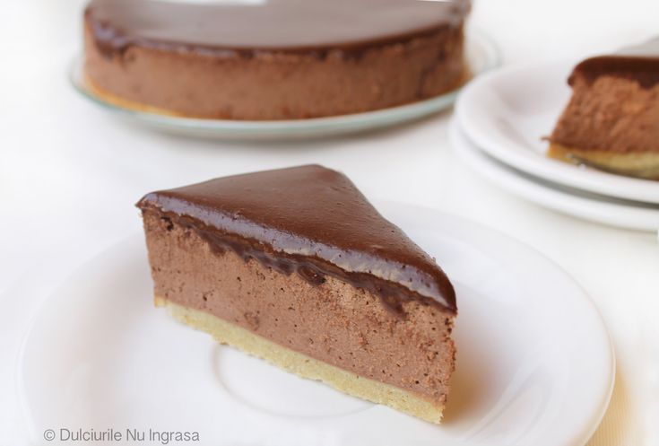 Protein Chocolate Cheesecake (sugar free, low-fat, 100% healthy)