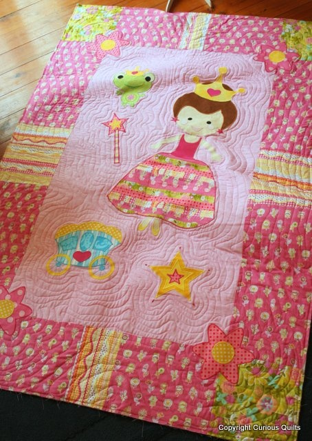 Pretty princess quilt