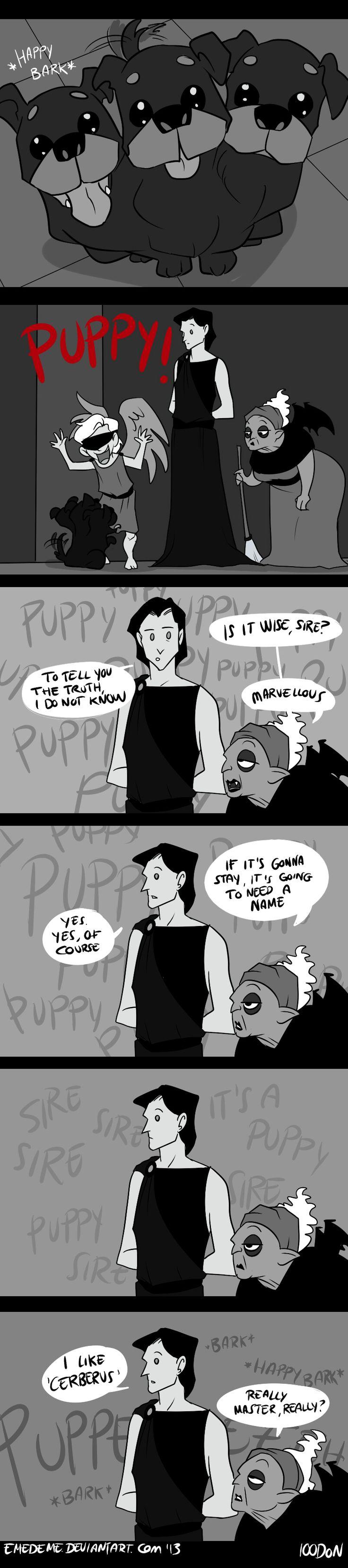 100DoN - Puppy. by emedeme on DeviantArt
