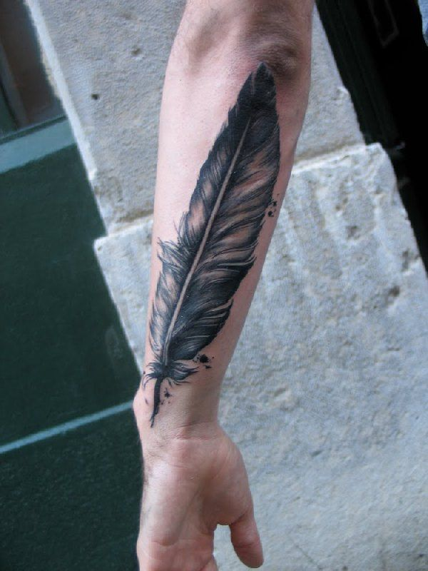 30 Fabulous Peacock Feather Tattoo Designs and Meaning Check more at http://tattoo-journal.com/30-cool-feather-tattoo-designs/