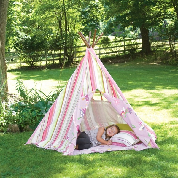 A cute teepee for the girls!