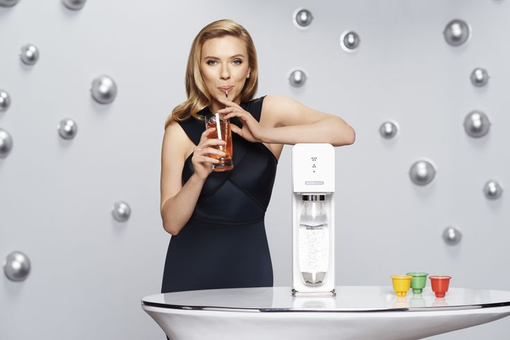 """I am beyond thrilled to share my enthusiasm for SodaStream with the world!!"" -- Scarlett Johansson"