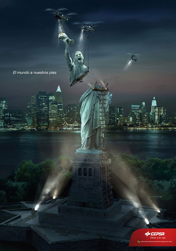"Collection of Creative 2012 ""End of The World"" Advertisement Designs Photo"