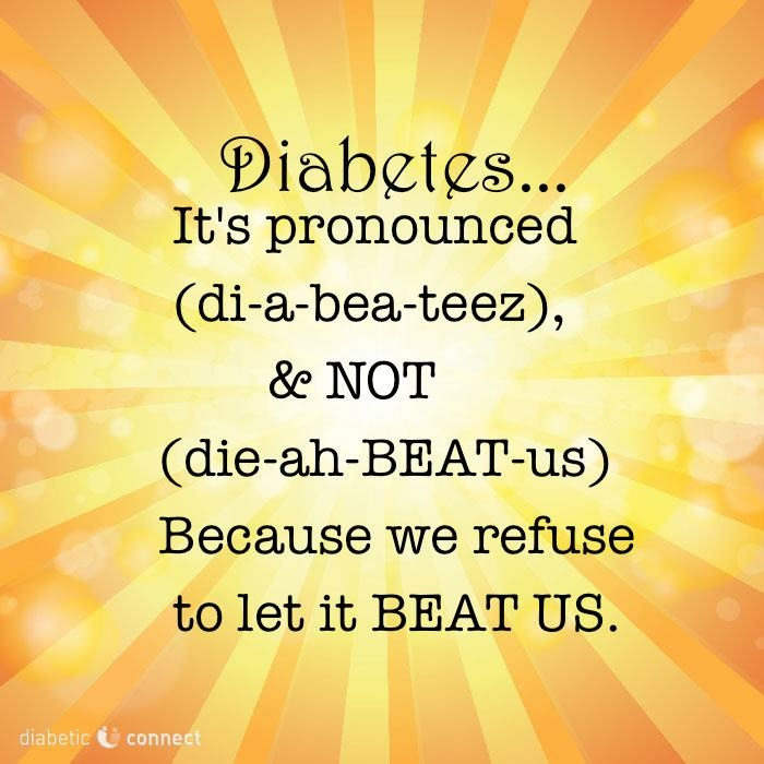 Diabetes Quotes: 90 Best Diabetes Quotes And Inspirational Images On