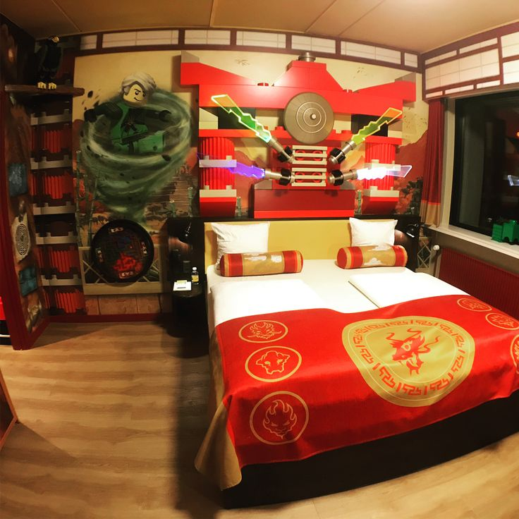How your hotel room looks like? Ninjago style apartment at Legoland.  #ninjago #lego #legoninjago #legoland #hotel #hotelroom #legolandhotel