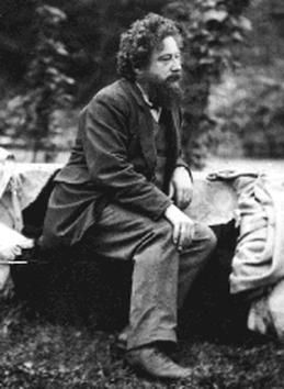 "William Morris at age 30 - ""Have nothing in your homes that you do not know to be useful or believe to be beautiful."" — William Morris"
