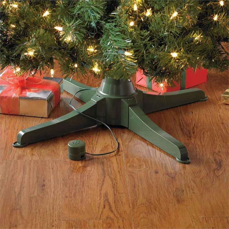 Musical Rotating Christmas Tree Stand | Christmas | BrylaneHome