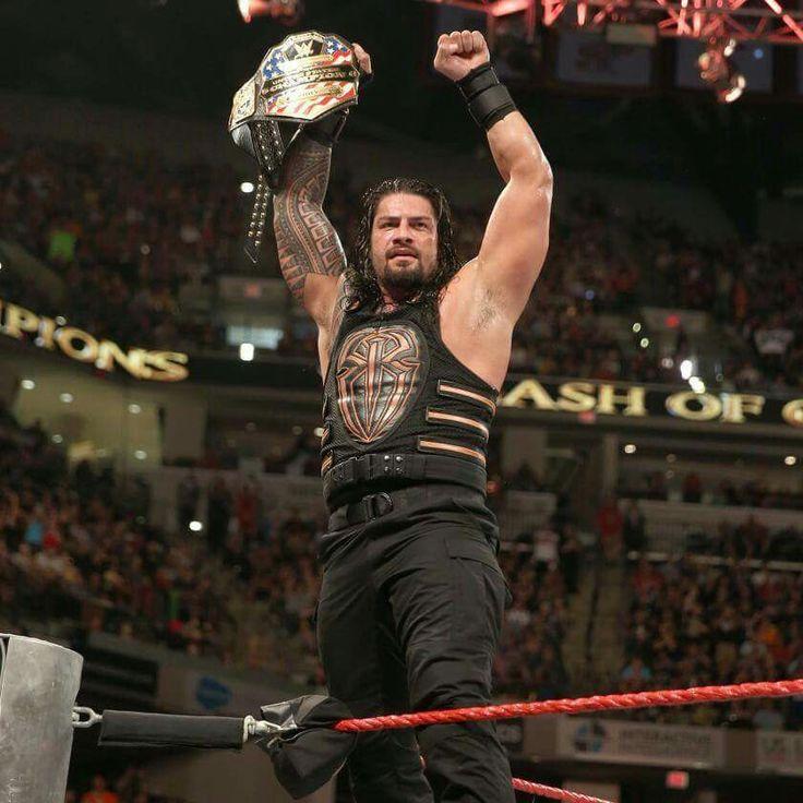 Roman Reigns New WWE US Champion