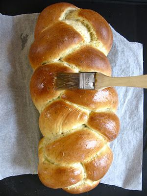 Life's a feast: GARLIC HERB BRAID: Homebaked Bread for the Holidays