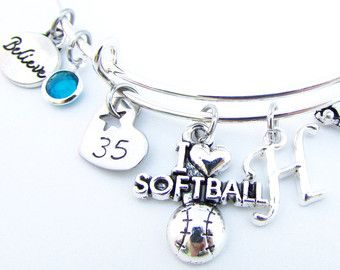 Unique softball gift related items   Etsy